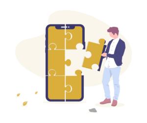 puzzle pie phone